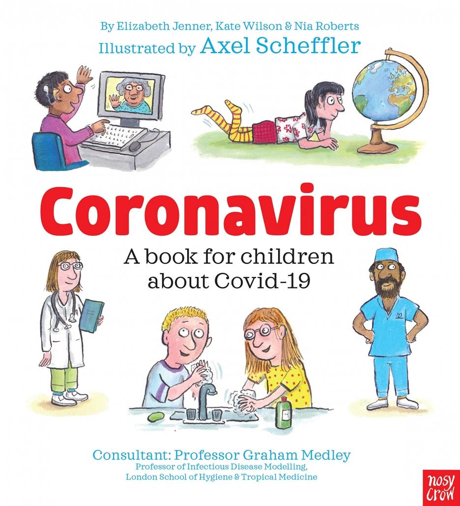 PR campaigns 2020 Covid-19 book Axel Scheffler