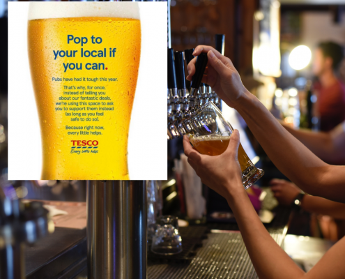 Tesco Community Relations Ad